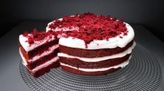 nahý dort - Hledat Googlem Velvet Cake, Red Velvet, Naha, Tiramisu, Breakfast, Ethnic Recipes, Desserts, Food, Cakes