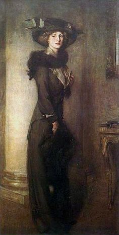 Edward Arthur Walton - The Beaver Hat