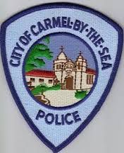 Carmel by the sea police patch