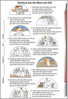 Zachäus war der Mann am Zoll - Bild Text Probe : Zachäus war der Mann am Zoll - Bild Text Probe Ark Craft, Text Pictures, Woodland Party, Primary School, Sunday School, Man Picture, Teaching Ideas, Board, Religious Education