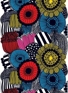 We love this print as fabric and it is every bit as stunning as a laminate. This print looks great if you simply cut the edge to follow the design rather than h