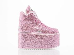 Platform - Pink Glitter // Click here to vote: http://bit.ly/1AtJPPs