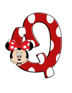 Mickey Mouse Letters, Mickey E Minnie Mouse, Minnie Png, Mickey Mouse Birthday, 2nd Birthday, Minnie Mouse Background, Alfabeto Disney, Character Letters, Alphabet And Numbers