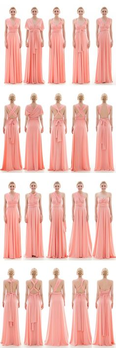 9a07de91ce Sheath Floor Length Knitted Bridesmaid Dress COEF16001
