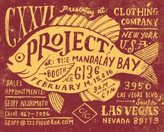Hand lettering, which is cool, but I'm mostly pinning it because I was recently at Mandalay Bay :D