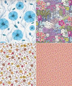 Liberty London New Season Flower Show Fabrics
