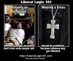 liberal-logic-101-36 ...yep! This one makes a lot of sense...but we're just not sure to whom it actually makes sense, or how, or why...or what planet these freaks who believe such things live on???