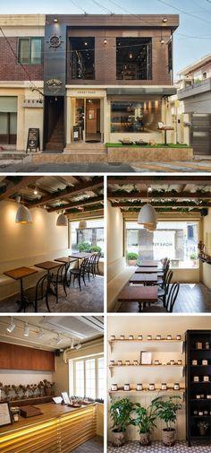 [No.57 허니스트] 모던 디자인 카페 인테리어 10평, 브랜드샵 공간 브랜딩