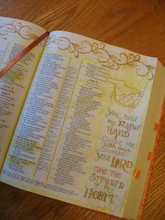 A Palette Full of Blessings: Bible Art Journaling