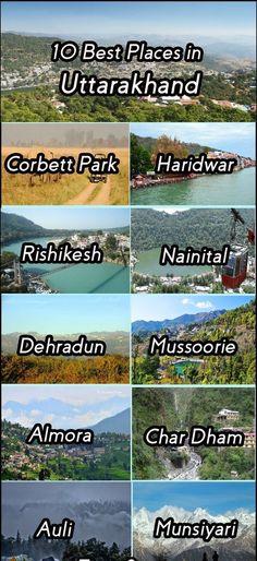 eUttarakhand Tourism - Tour and Travels in Uttarakhand India Travel Destinations In India, India Travel Guide, Travel Tours, Travel And Tourism, Beautiful Places To Travel, Best Places To Travel, Cool Places To Visit, Amazing Places, Tourist Places