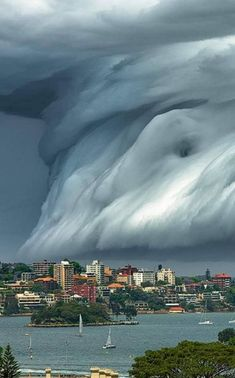 Tsunami Cloud, Sydney, Australia Photographer by Richard Hirst All Nature, Nature Images, Nature Pictures, Nature Quotes, Amazing Nature, One Word Art, Tsunami, Best Funny Pictures, Architecture Art