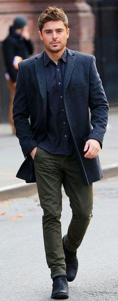 He always looks so dashing :)