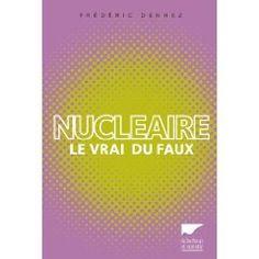 Cet ouvrage fait le point sur le nucléaire pour que l'homme, citoyen et consommateur, en comprenne ses enjeux et aborde le débat sans dramatiser à outrance pour une réflexion plus constructive.