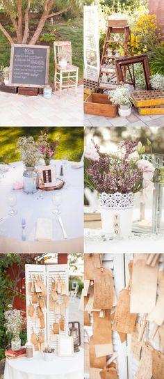 Quelques inspirations de décoration de #mariage à base de #récup : n'achetez pas, réutilisez !