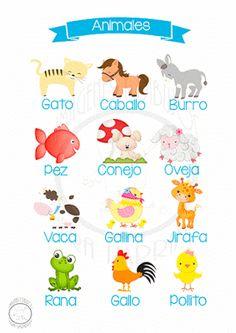 aprender los animales