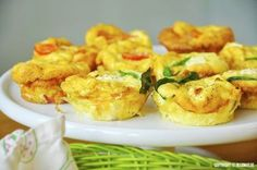 Supersnabba omelettmuffins - Powered by Tapas, Food For The Gods, Good Food, Yummy Food, Swedish Recipes, Dessert For Dinner, Different Recipes, Appetizer Recipes, Appetizers
