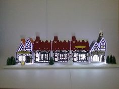 Good morning everyone, welcome to my blog, today I am going to share the absolutely fantastic Tudor Town die sets from Tonic Studios, the... Paper Towns, Tudor House, Putz Houses, Glitter Houses, Good Morning Everyone, Paper Houses, Book Making, Studios, Boxes