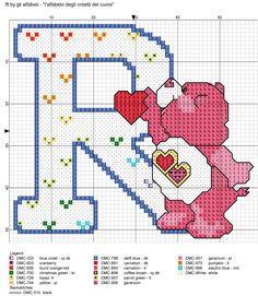 alfabeto degli orsetti del cuore: R