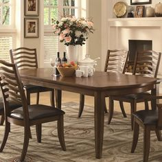 Avery Casual 7 Piecs Dining Set SETD7P103541