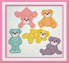Rainbow Tear Bear Collection