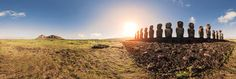 Travel to Rapa Nui - Easter Island now - Panoramic Photography and Map - 360Cities