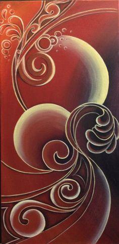 Original Painting by New Zealand artist Reina Cottier.  www.facebook.com/reinacottierart