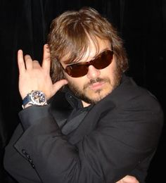 Jack Black. Actor, comedian and musician.