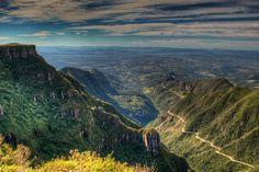 Serra do Rio do Rastro, brazil