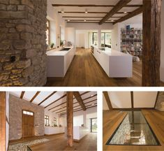 Die 63 besten bilder von bauernh user modernisiert modern farmhouse architecture design und - Fachwerkhaus einrichten ...