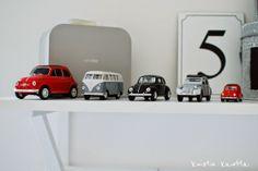 Kuistin kautta: Pikkuautokokoelma