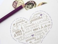 Magnolia Rouge: Personalised Stationery by Ruby & Willow