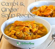 This carrot and ginger soup gives your immune system a big boost. It's packed with nutrients and the recipe is so easy to follow!