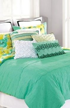 Nanette Lepore Villa 'Cottage Fresh' Reversible Cotton Comforter & Shams on shopstyle.com