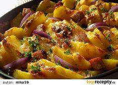 Tvarůžkové brambory recept - TopRecepty.cz