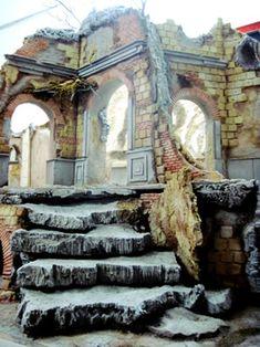 Large cribs_Grandi Scenografie_Neapolitan crib_Presepe napoletano
