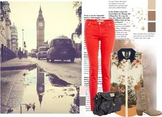 """""""London streets"""" by leo2563 on Polyvore"""