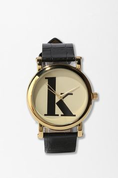 "i LOVE this watch, but I can't help thinking that it wouldn't look quite as cute with a ""v""..."