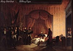 General Bonaparte Receiving Captured Austro-Sardinian Flags at Millesimo.