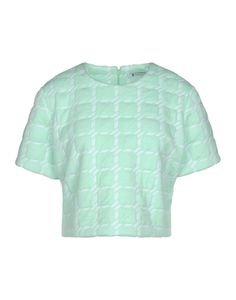 Something Sorbet... Shop the Pastel Trend at #ShopBAZAAR - T By Alexander Wang Mint Green Short Sleeve Top
