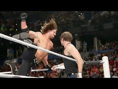 WWE Raw June 27th 2016 highlights HD - Aj styles vs Dean ambrose Highlights