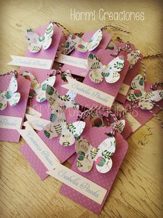 Etiquetas para en envoltura de regalos