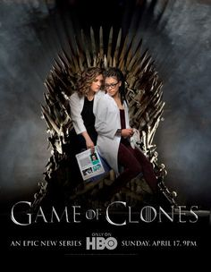 Orphan Black: Game of Clones. Now THAT sounds good.