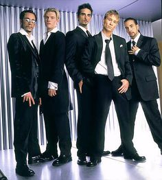 Backstreet Boys -- I don't care what anyone says, I will always be a die hard fan lol.