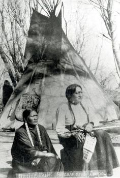 SITTING BULL AND HIS WIFE SEEN BY HER NATION , 1882