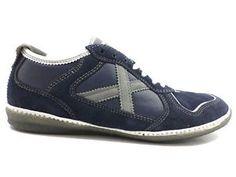#Munich #blu #sneakers #uomo #zooode