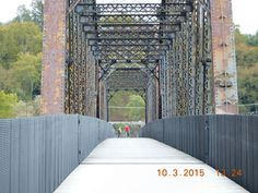 Bridge crossing into McKeesport, PA  (The Great Allegheny Passage Trail)