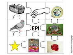 φωνολογική ... Greek Alphabet, Learn To Read, Motor Skills, Speech Therapy, Literacy, Kids Rugs, Teacher, Writing, Education