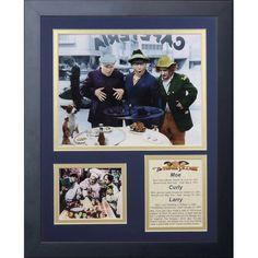 Legends Never Die The Three Stooges Framed Memorabilia