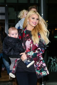 Jessica Simpson and her too-cute son Ace