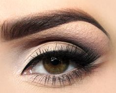 Smoky neutral eye.  Our Shimmer Strips Custom Eye Enhancing Shadow & Liner Smoky collection is perfect for this!